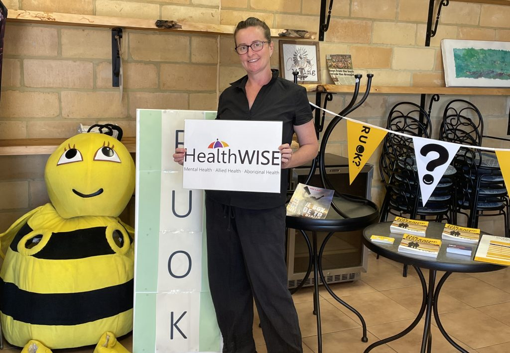 Warialda Country Dust Cafe RUOK Day HealthWISE